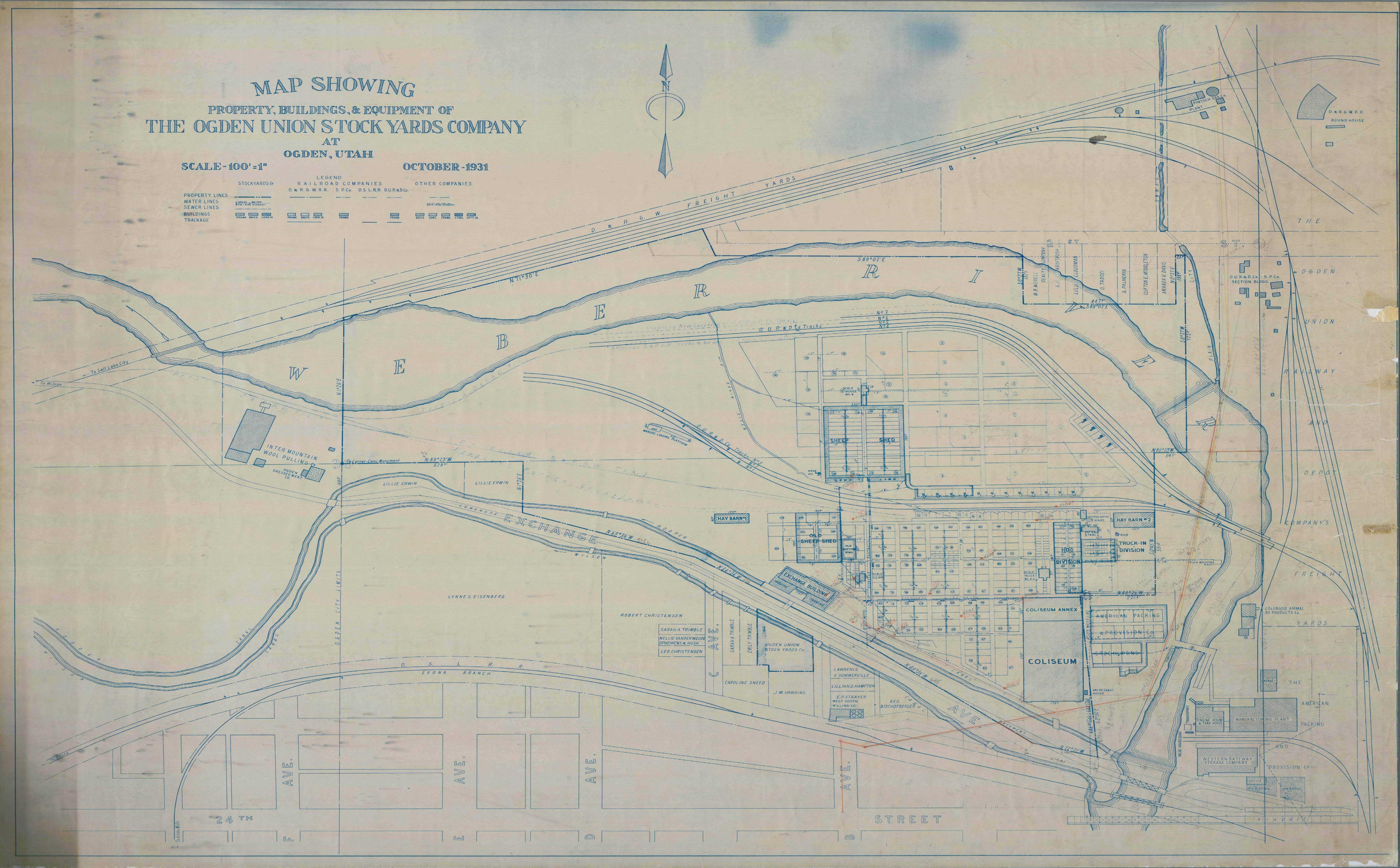 1931 site map